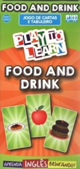 Picture of PLAY TO LEARN - JOGO DE CARTAS - FOOD AND DRINK