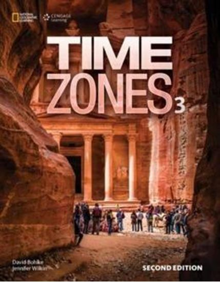 Picture of TIME ZONES 3 STUDENT´S BOOK WITH ONLINE WORKBOOK - 2ND ED