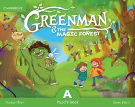 Picture of GREENMAN AND THE MAGIC FLOREST A PUPILS BOOK WITH STICKERSAND POP-OUTS