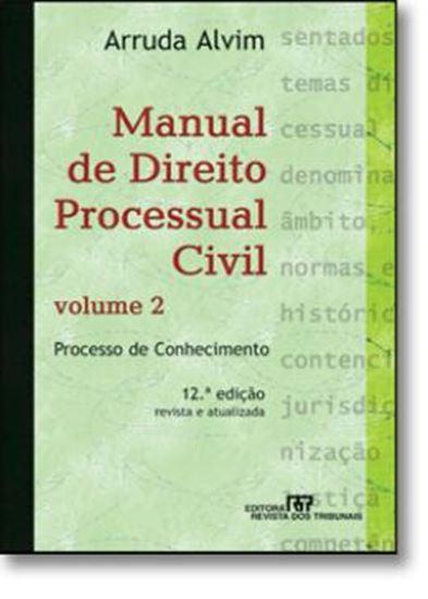Picture of MANUAL DE DIREITO PROCESSUAL CIVIL VOLUME 2 - PROCESSO DE CONHECIMENTO  12ª EDICAO