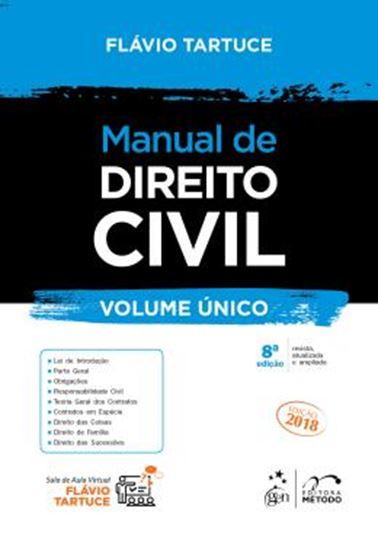 Picture of MANUAL DE DIREITO CIVIL - VOLUME UNICO - 8ª ED