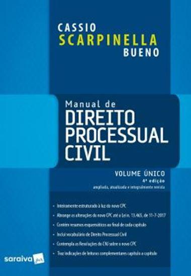 Picture of MANUAL DE DIREITO PROCESSUAL CIVIL - VOLUME UNICO - 4ª ED