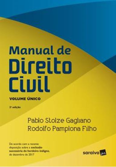 Picture of MANUAL DE DIREITO CIVIL - VOLUME UNICO - 2ª ED