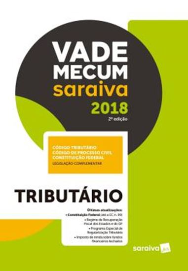 Picture of VADE MECUM SARAIVA 2018 - TRIBUTARIO - 2ª ED