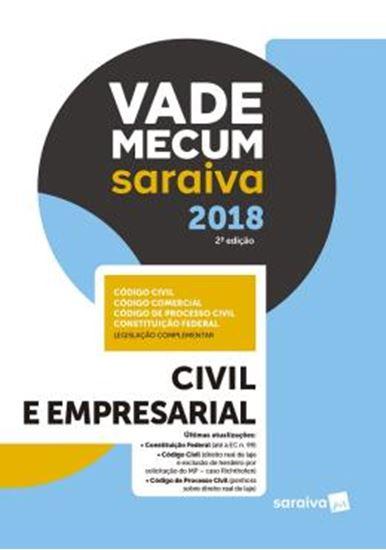 Picture of VADE MECUM SARAIVA 2018 - CIVIL E EMPRESARIAL - 2ª ED