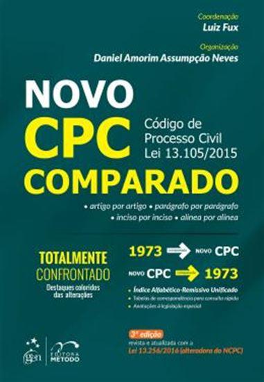 Picture of NOVO CPC COMPARADO - 3ª ED