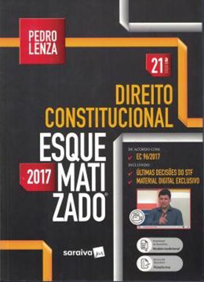 Picture of DIREITO CONSTITUCIONAL ESQUEMATIZADO - 21ª ED
