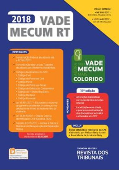 Picture of VADE MECUM RT 2018 - 15ª ED