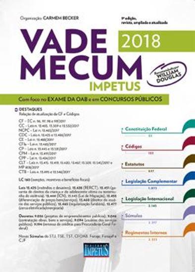 Picture of VADE MECUM IMPETUS PARA OAB CONCURSOS 2018 - 9ª ED
