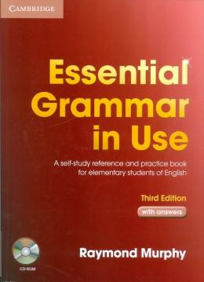 Picture of ESSENTIAL GRAMMAR IN USE WITH ANSWERS AND CD-ROM - THIRD EDITION