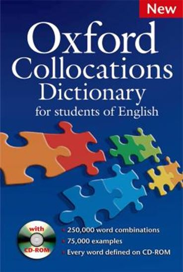 Picture of OXFORD COLLOCATIONS DICTIONARY FOR STUDENTS OF ENGLISH WITH CD-ROM - NEW EDITION