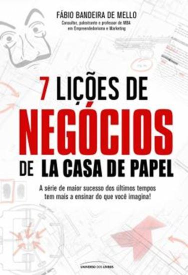 Picture of 7 LICOES DE NEGOCIOS DE LA CASA DE PAPEL