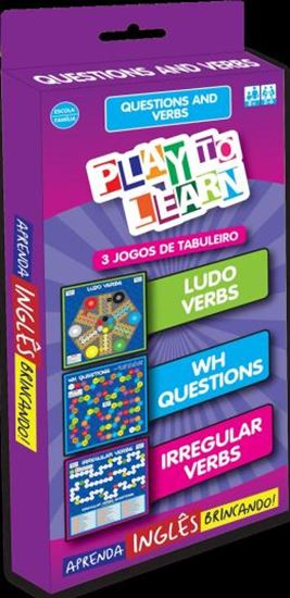 Picture of PLAY TO LEARN - JOGO DE CARTAS - QUESTIONS AND VERBS