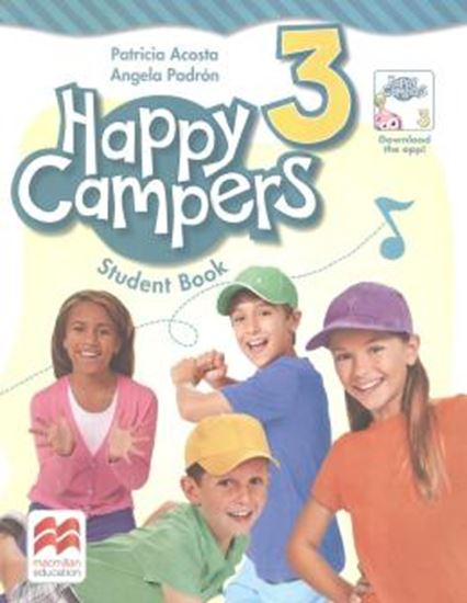 Picture of HAPPY CAMPERS 3 STUDENT´S BOOK PACK - 1ST ED