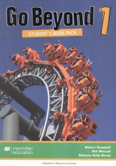 Picture of GO BEYOND 1 SB WITH WB + STUDENT RESOURCE CENTER- PACK