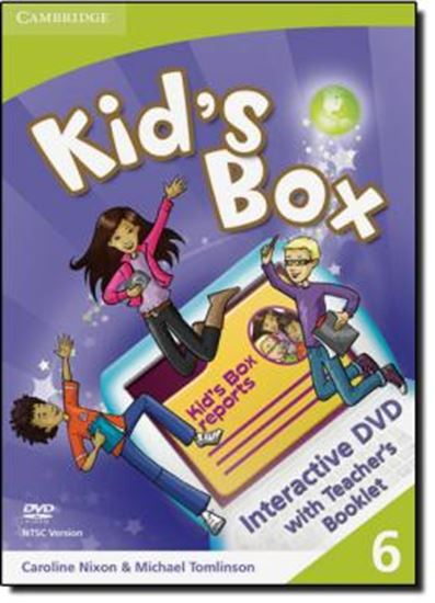 Picture of KID´S BOX LEVEL 6 INTERACTIVE DVD WITH TEACHER´S BOOKLET