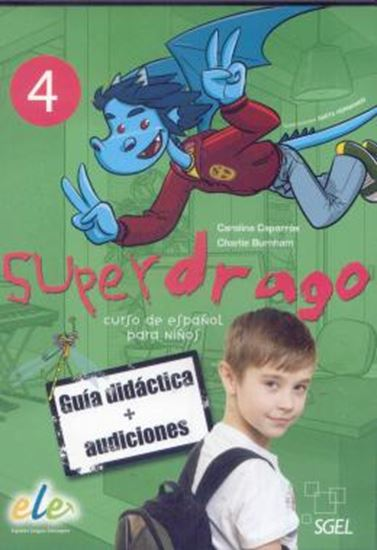 Picture of SUPERDRAGO 4 - GUIA DIDACTICA CD-ROM EN PDF Y CD AUDIO