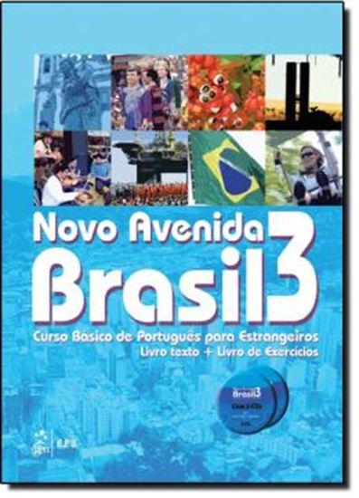 Picture of NOVO AVENIDA BRASIL 3 - LIVRO TEXTO E LIVRO DE EXERCICIOS