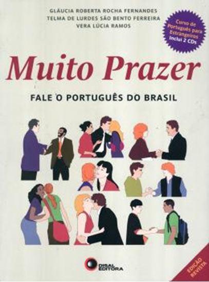 Picture of MUITO PRAZER - FALE O PORTUGUES DO BRASIL - VOLUME UNICO - LIVRO DO ALUNO COM CD - BASICO/INTERMEDIARIO