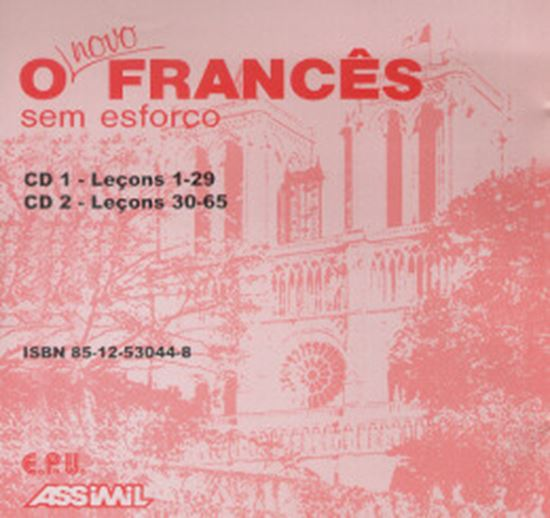 Picture of NOVO FRANCES SEM ESFORCO (CD)
