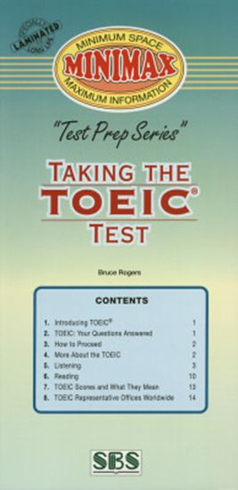 Picture of MINIMAX - TAKING THE TOEIC TEST