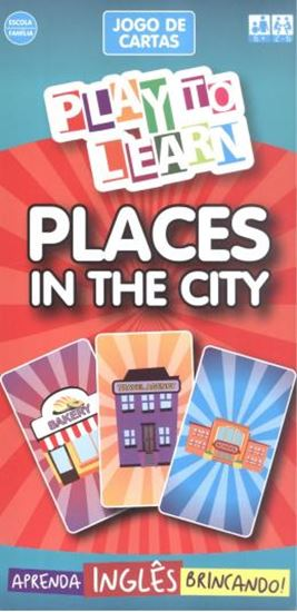 Picture of PLAY TO LEARN - JOGO DE CARTAS - PLACES IN THE CITY