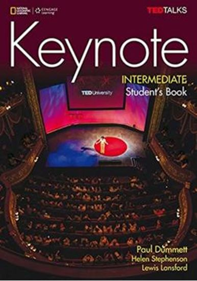 Picture of KEYNOTE INTERMEDIATE SB WITH DVD-ROM AND ONLINE WB PRINTED ACCESS CODE - BRITISH