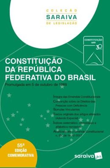 Picture of CONSTITUICAO DA REPUBLICA FEDERATIVA DO BRASIL - 55ª ED