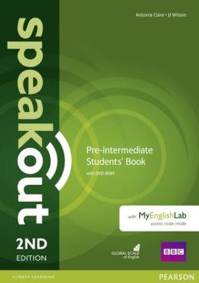 Picture of SPEAKOUT PRE-INTERMEDIATE SB WITH DVD-ROM AND MYENGLISHLAB ACCESS CODE PACK - 2ND ED