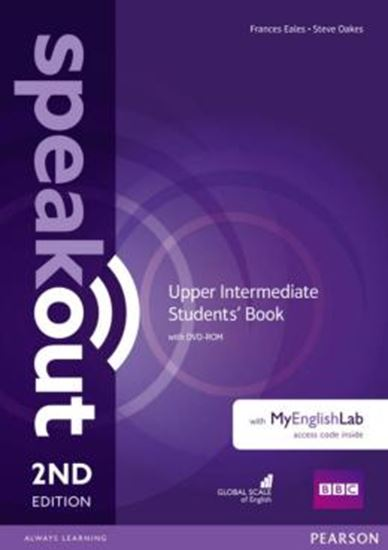 Picture of SPEAKOUT UPPER INTERMEDIATE SB WITH DVD-ROM AND MYENGLISHLAB ACCESS CODE PACK - 2ND ED