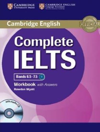 Picture of CAMBRIDGE ENGLISH COMPLETE IELTS BANDS 6.5-7.5 WB WITH ANSWERS WITH AUDIO CD