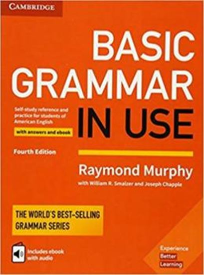 Picture of BASIC GRAMMAR IN USE SB WITH ANSWERS AND INTERACTIVE EBOOK - SELF-STUDY REFERENCE AND PRACTICE FOR STUDENTS OF AMERICAN ENGLISH- 4TH ED
