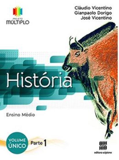 Picture of PROJETO MULTIPLO - HISTORIA - VOL. UNICO - PARTE 1