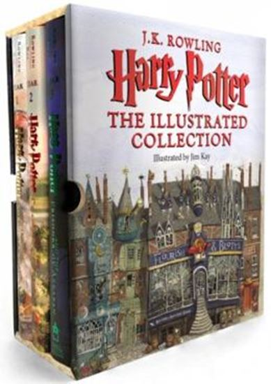 Picture of HARRY POTTER - THE ILLUSTRATED COLLECTION - BOOKS 1 -3 BOXED SET