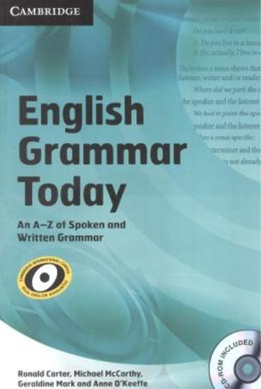 Picture of ENGLISH GRAMMAR TODAY BK W/CD-ROM