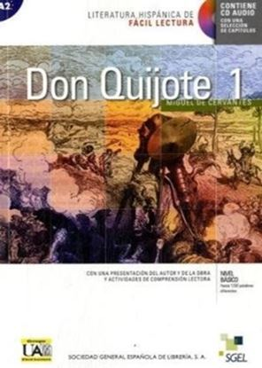 Imagem de  DON QUIJOTE DE LA MANCHA 1 - LITERATURA HISPANICA DE FACIL LECTURA BASICO - LIBRO CON CD AUDIO