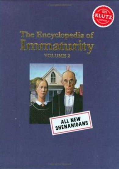 Picture of  ENCYCLOPEDIA OF IMMATURITY, THE