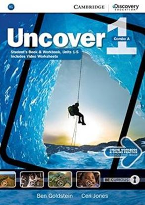 Imagem de UNCOVER 1A COMBO STUDENT´S BOOK WITH ONLINE WORKBOOK AND ONLINE PRACTICE - 1ST ED