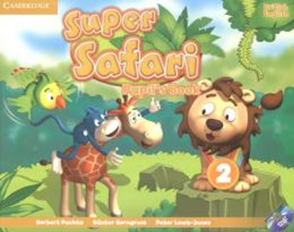 Imagem de SUPER SAFARI BRITISH ENGLISH 2 PUPIL´S BOOK WITH DVD-ROM - 1ST ED