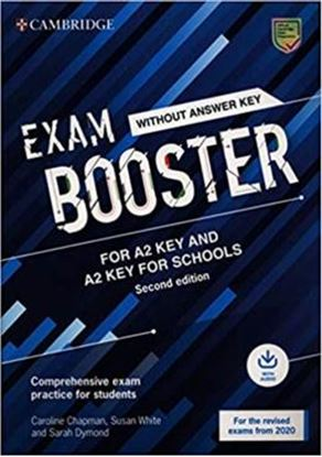 Imagem de  EXAM BOOSTER FOR A2 KEY AND A2 KEY FOR SCHOOLS WITHOUT ANSWER KEY WITH AUDIO - COMPREHENSIVE EXAM PRACTICE FOR STUDENTS - 2ND ED.