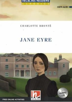 Imagem de JANE EYRE - HEBLING READERS CLASSICS - BLUE SERIES - LEVEL 4 - WITH AUDIO CD + FREE ONLINE ACTIVITIES - N/E