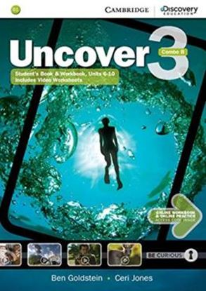 Imagem de UNCOVER 3B COMBO STUDENT´S BOOK WITH ONLINE WORKBOOK AND ONLINE PRACTICE - 1ST ED