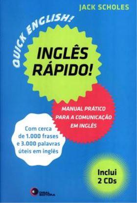 Imagem de INGLES RAPIDO - MANUAL PRATICO PARA A COMUNICACAO EM INGLES - CONTEM 2 CDs DE AUDIO