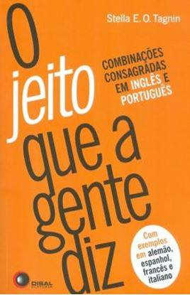 Imagem de JEITO QUE A GENTE DIZ, O - 2º ED